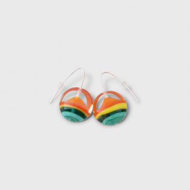 Boucles d'oreilles Lili Plat Orange