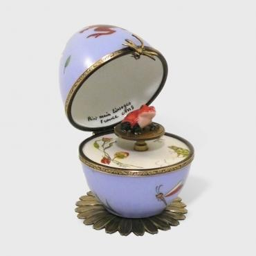 Music box grenouille bleue