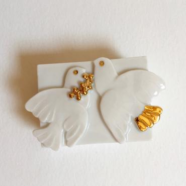 Jewelry box Doves