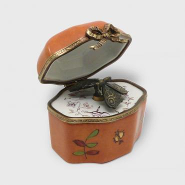 Music box coffret orange