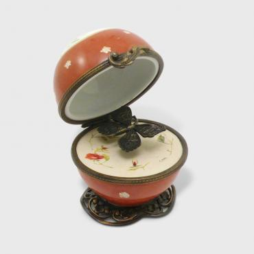 Music box boule orange
