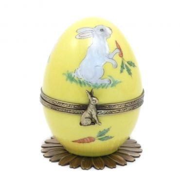 Music box lapin jaune