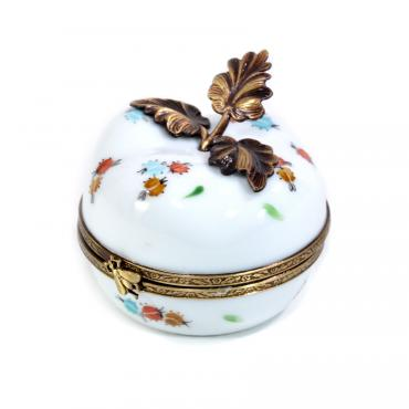 Music box white apple