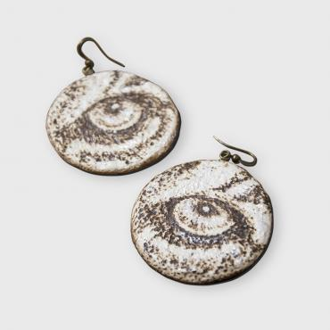 Earrings Fauve