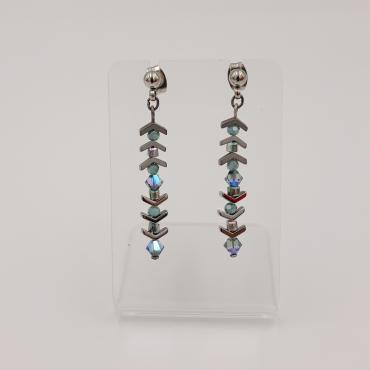 Boucles-d'oreilles collection Pagode