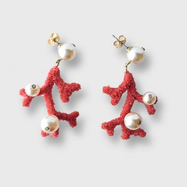 Earrings Dina Perles