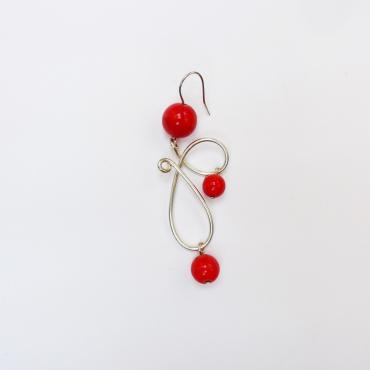 Earrings VOLUTES