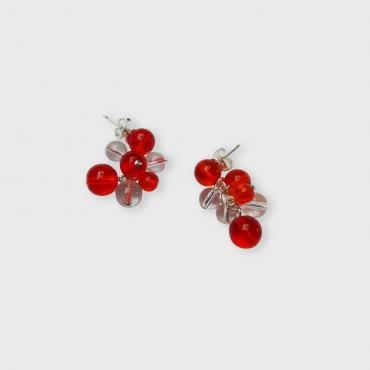Boucles d'oreille Rithm S - Orange