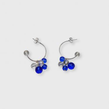 Earrings Rithm M - Bleu