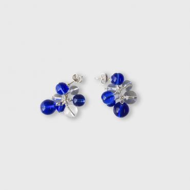 Earrings Rithm S - Bleu