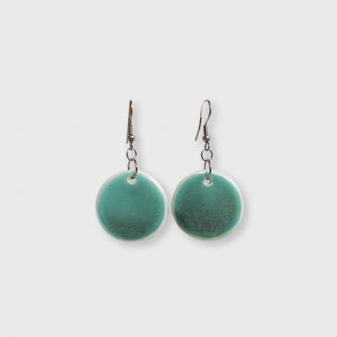 Earrings Collection Aventurine Cercle