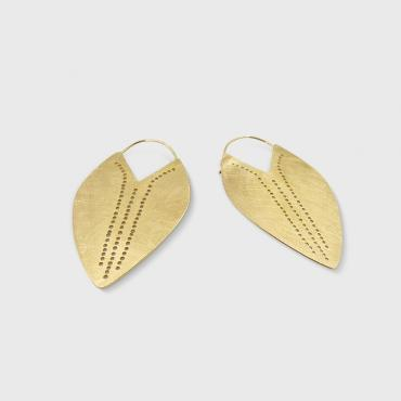 Earrings AMORGOS bouclier