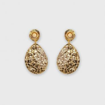 Earrings Byzance ivory