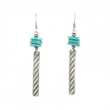 Earrings Ethniques Turquoise