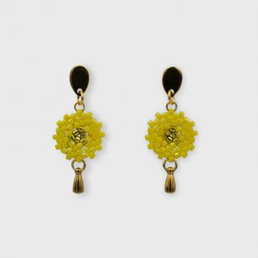 Earrings Lilou jaune