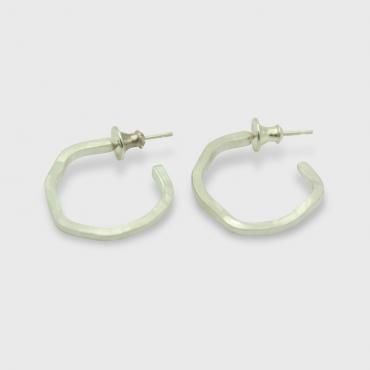 Boucles d'oreilles NEBULEUSES, collection ASSYMETRICS