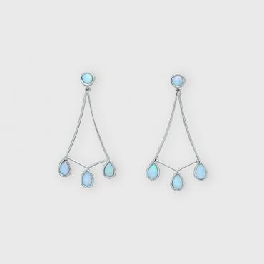 Earrings Opalescence