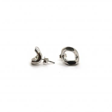Boucles d'oreilles Titanium simple