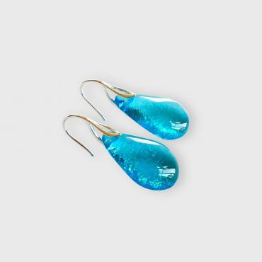 Earrings Gouttes Turquoise