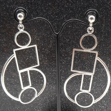 Earrings d'argent Lio 1