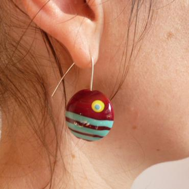Earrings Lune Rouge