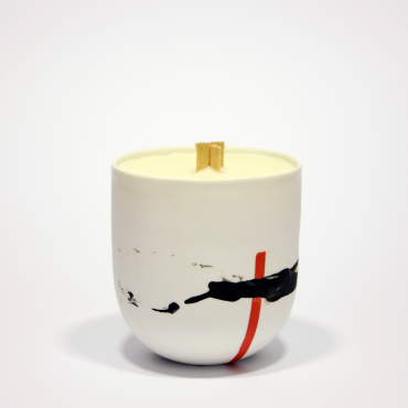 Candle Duality Rouge - Cotton flower