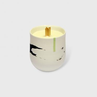 Candle Duality Green - Rose petals