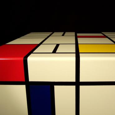 End table Mondrian Quel Piet