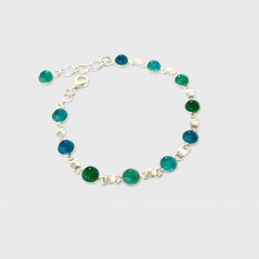 Bracelet BILLE blue green