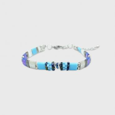 Bracelet collection Sunny Fun turquoise and silver
