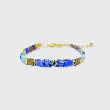 Bracelet Sunny Fun turquoise and gold