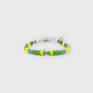 Bracelet collection Sunny Fun vert et jaune