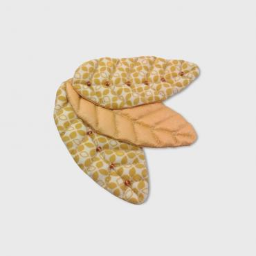 Brooch 3 Feuilles Yellow