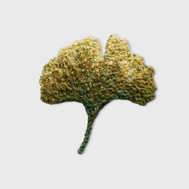 Broche Ginkgo n°2 - collection Forest