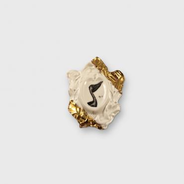 Cameo Pin Pelican collection Histoire naturelle