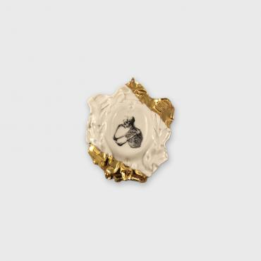 Broche Camay Squelette I, collection Histoire naturelle