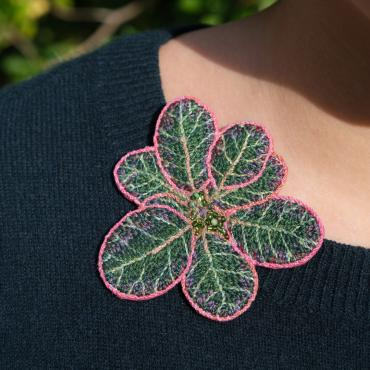 Broche Folium (L) - collection Forest