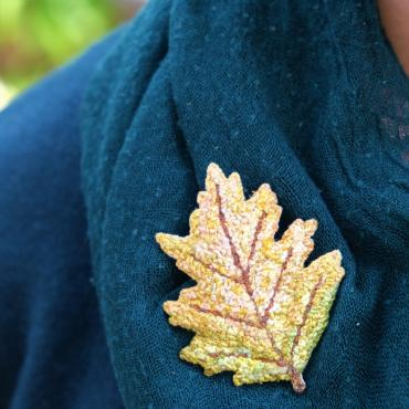 Broche Phillo n°2 - collection Forest