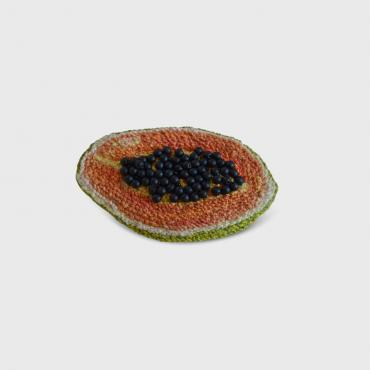Broche Papaye bÕ fruit