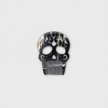 Beard comb Calavera Arabesque