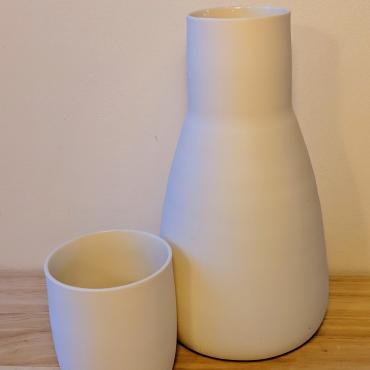Carafe with a convertible cork