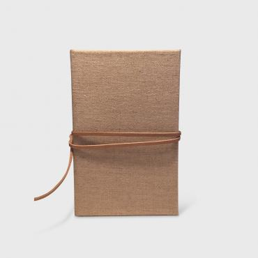 Notebook Wabi in linen