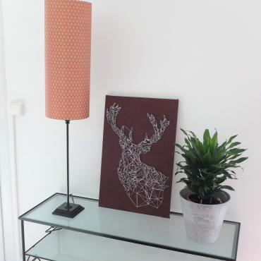Wall hanging cerf