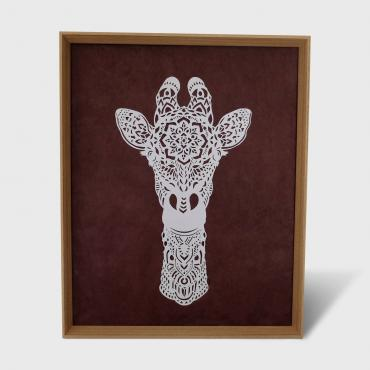 Wall hanging girafe