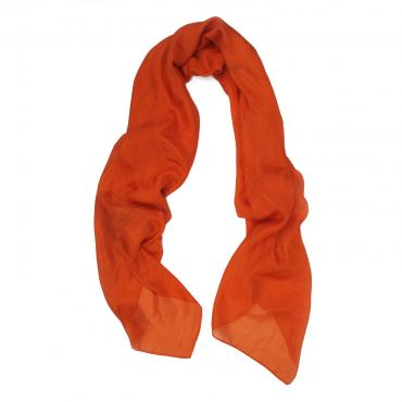 Scarf 140 uni orange sanguine