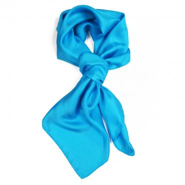 Silk scarf Turquoise