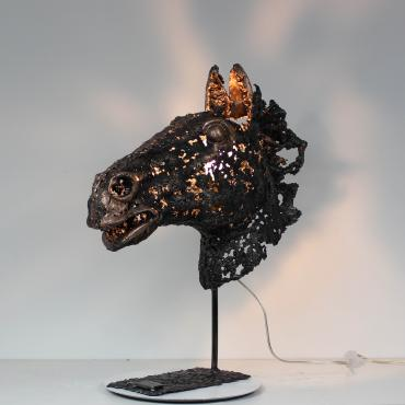 Sculpture Cheval Visionary