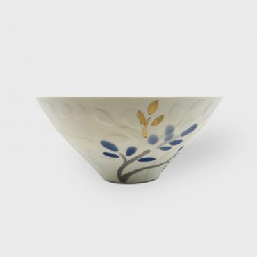 Bowl in porcelain