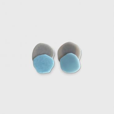 Clip-on earrings RICOCHET