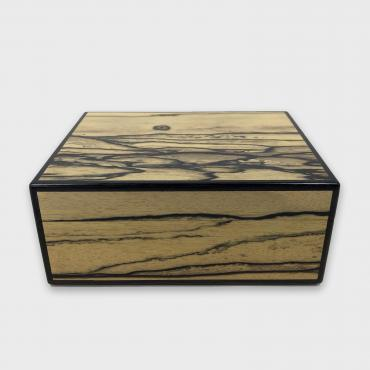 Jewel box/storage tray Modèle 1 White ebony and black pearwood